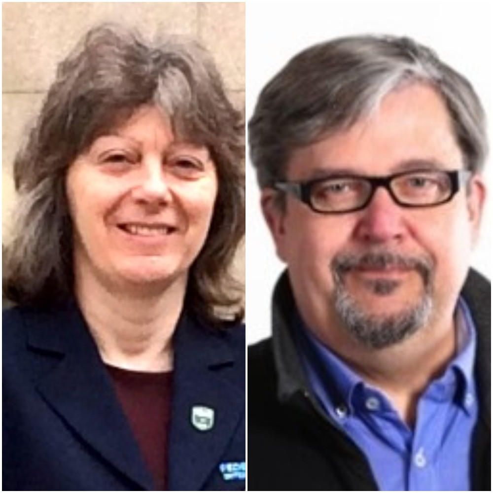 Julie Gabriel, left, and John Liljelund have been named as integrity officers at the World Flying Disc Federation ©WFDF