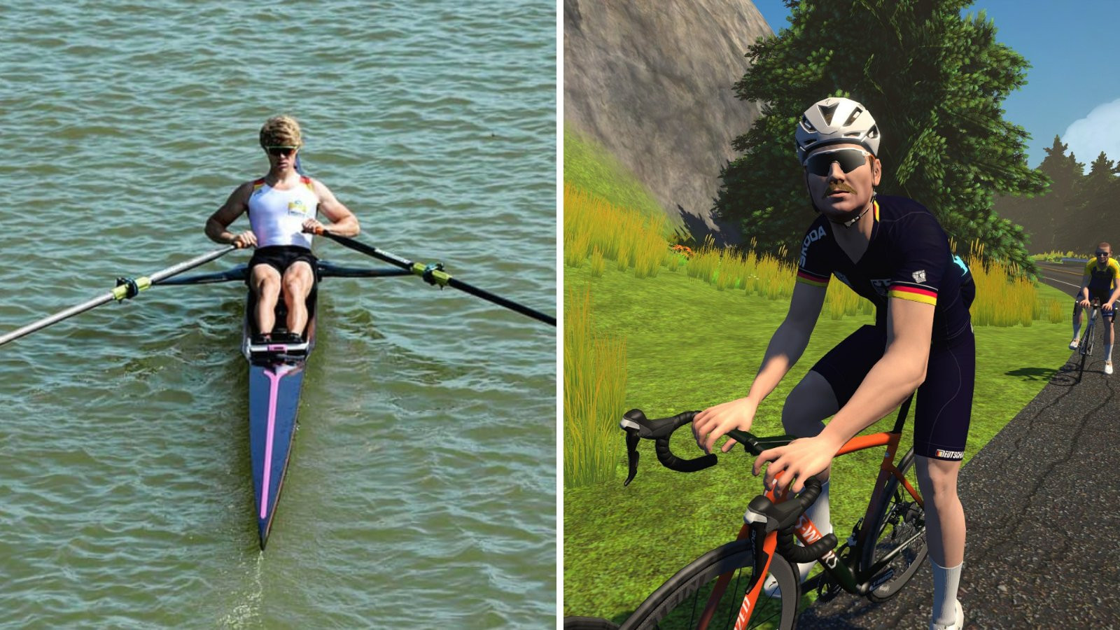 Rowing star Osborne wins men's race in inaugural UCI Cycling Esports World Championships