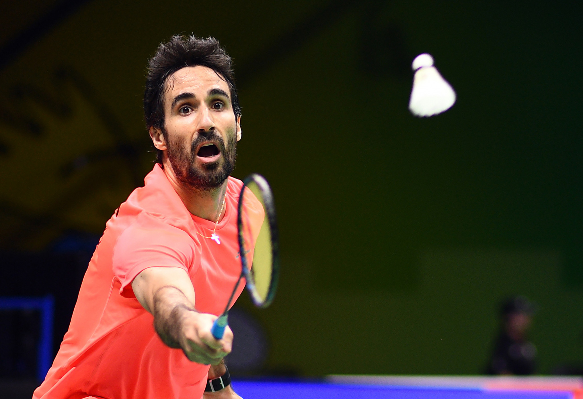 Pablo Abián beat Danylo Bosniuk in three games as Spain recorded a clean sweep versus Ukraine ©Getty Images