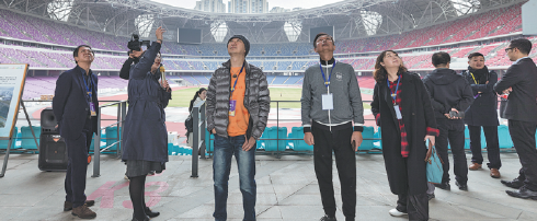 Music producers and composers visit venues in preparation for Hangzhou 2022