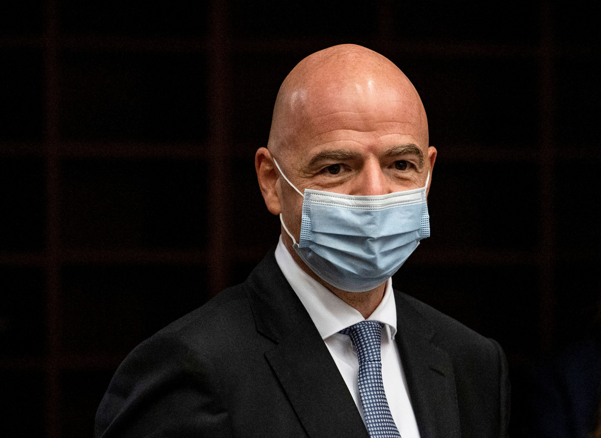 FIFA President Gianni Infantino already faces criminal proceedings over his meetings with former Swiss Attorney General Michael  Lauber ©Getty Images