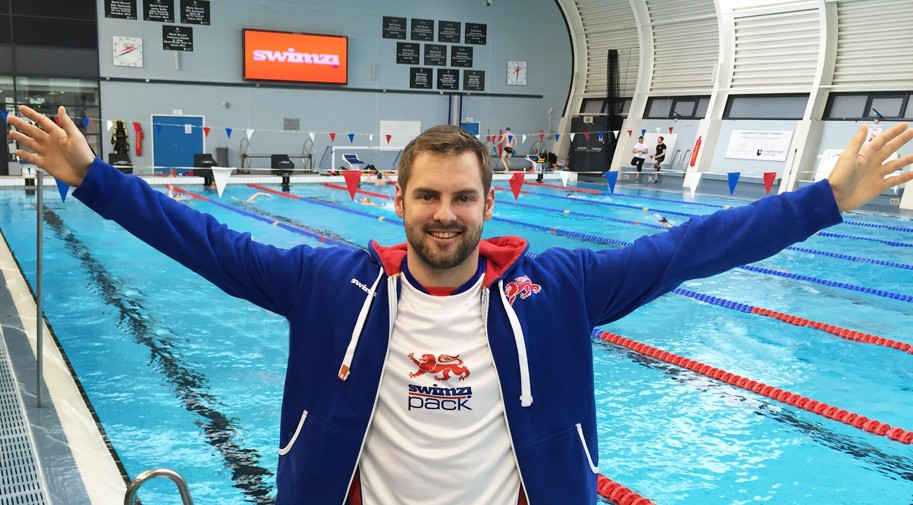 Three-times British swimming world champion invests in global sportswear company