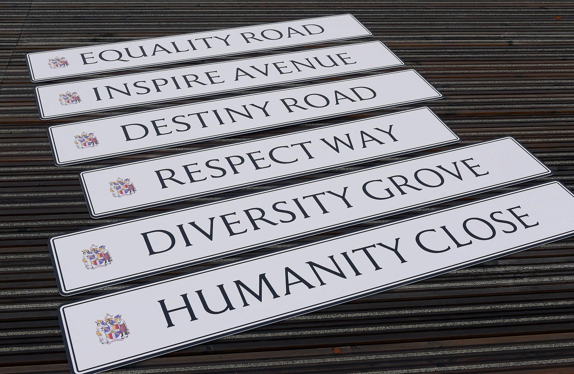 Commonwealth Sport Movement values inspire new street names in Birmingham