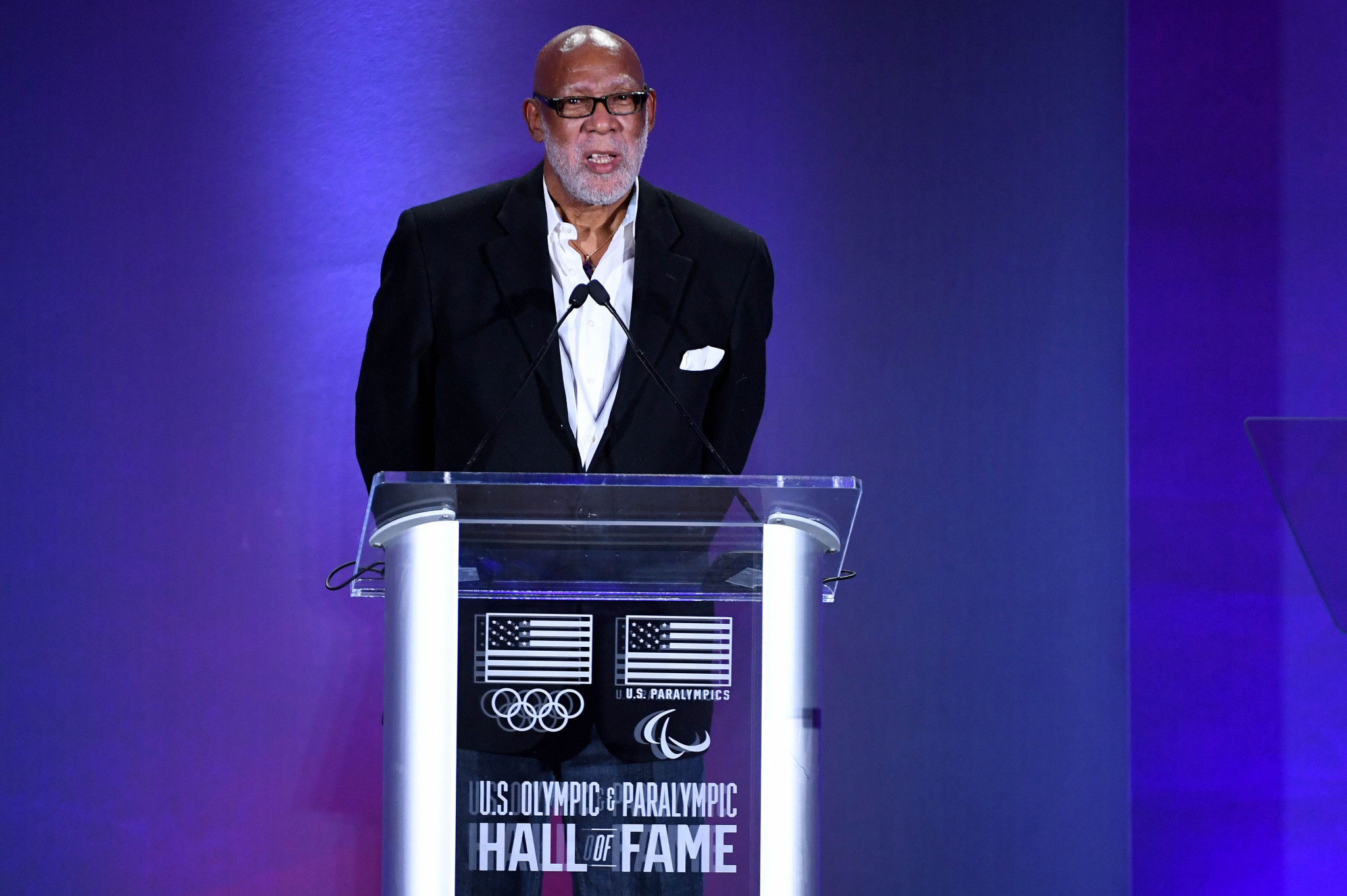 John Carlos is a member of the Team USA Council on Racial and Social Justice ©Getty Images