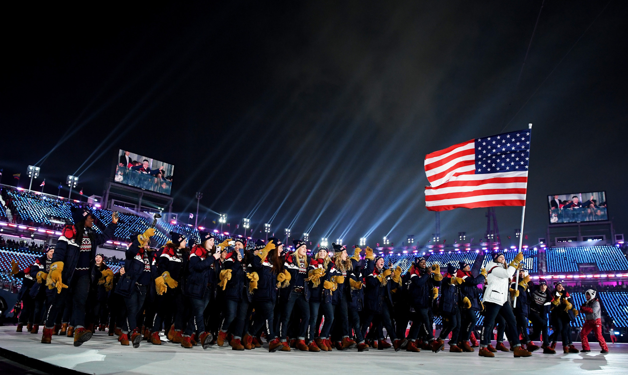 American athletes will not face punishment from the USOPC for podium protests aimed at promoting human rights and social justice at Tokyo 2020 and beyond ©Getty Images