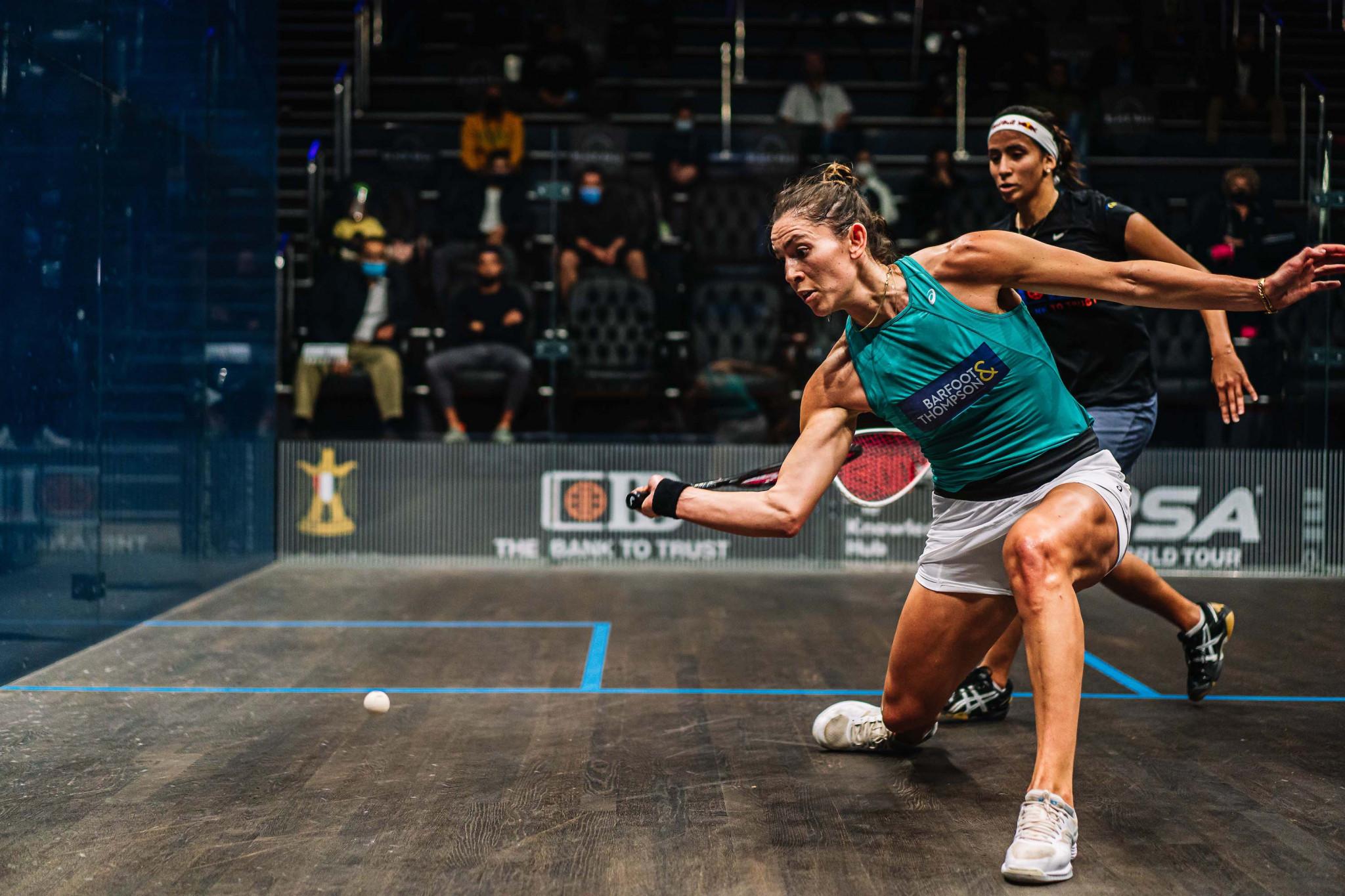 Top three seeds all fall in PSA Black Ball Squash Open quarter-finals