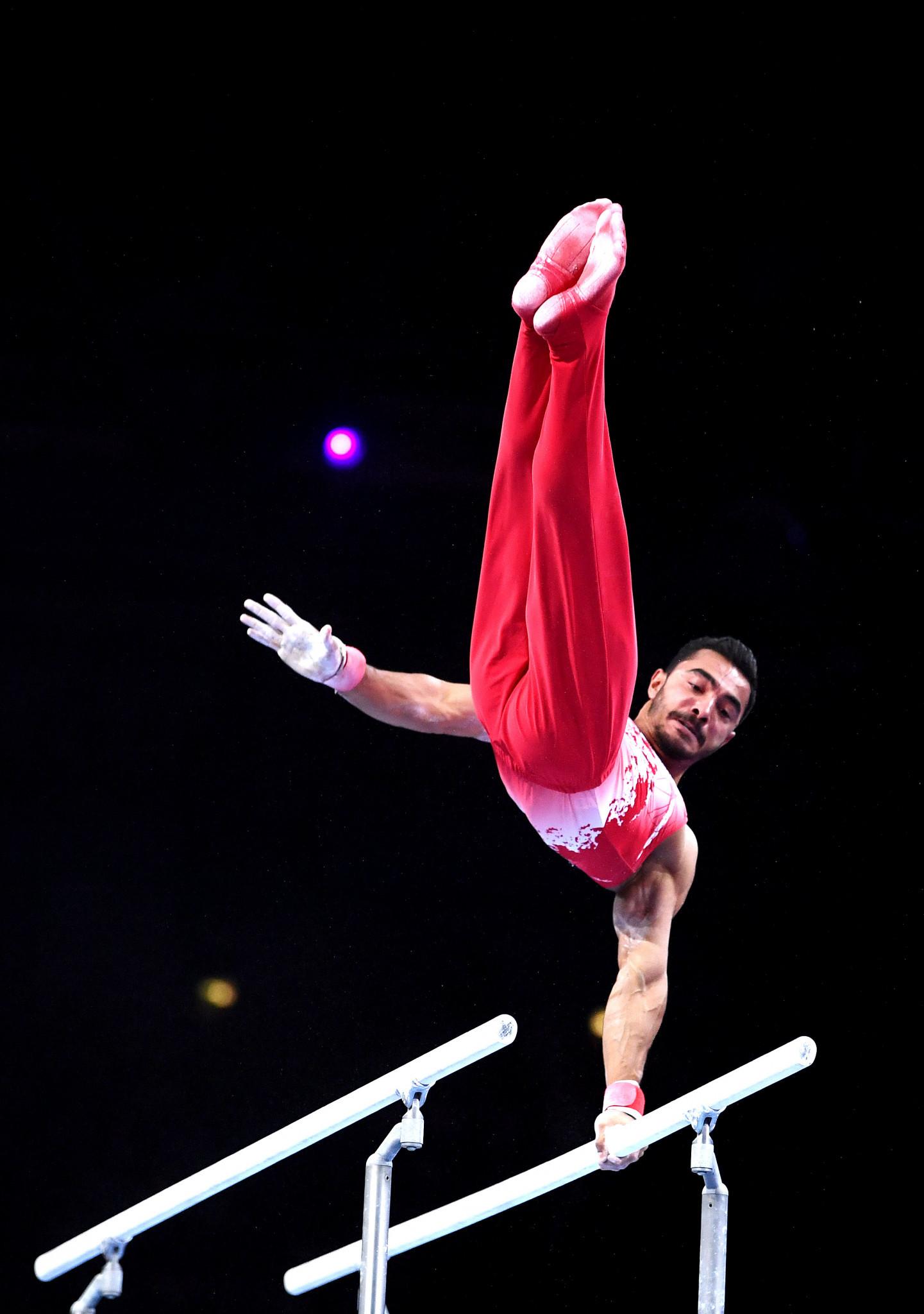 Arican and Çolak star for hosts Turkey in European Men's Artistic Gymnastics Championships qualifying