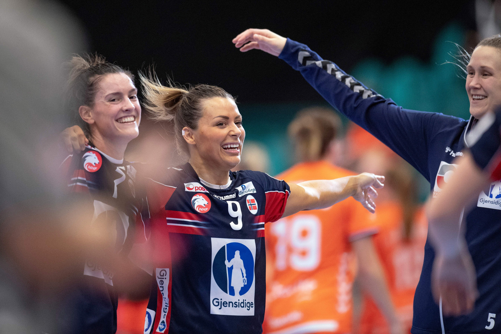 Nora Mark je na tekmi dosegla 30 najboljših golov © Getty Images