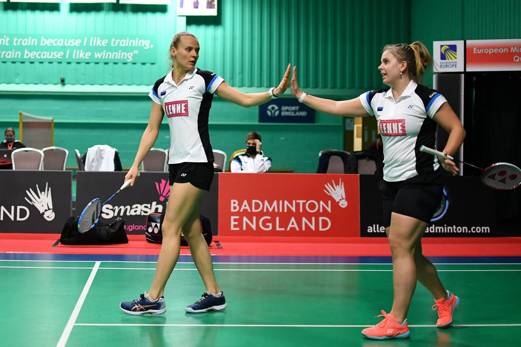 Estonia came from behind to defeat Sweden ©Facebook/Badminton Europe/Alan Spink