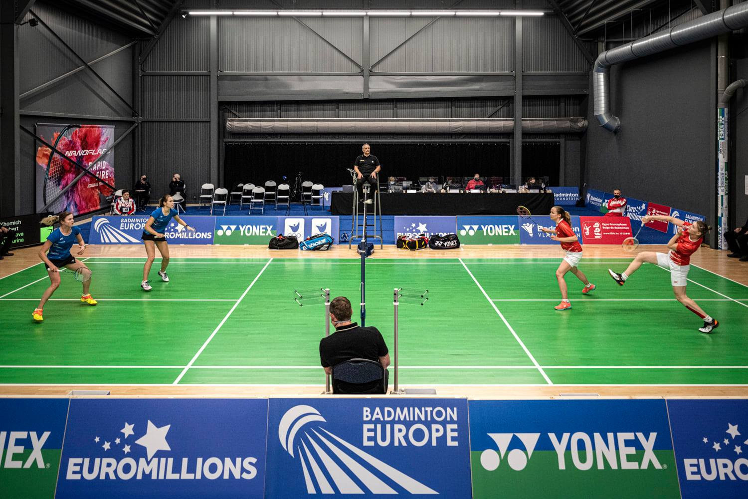 Three more European Mixed Team Championship qualification groups got underway today ©Facebook/Badminton Europe