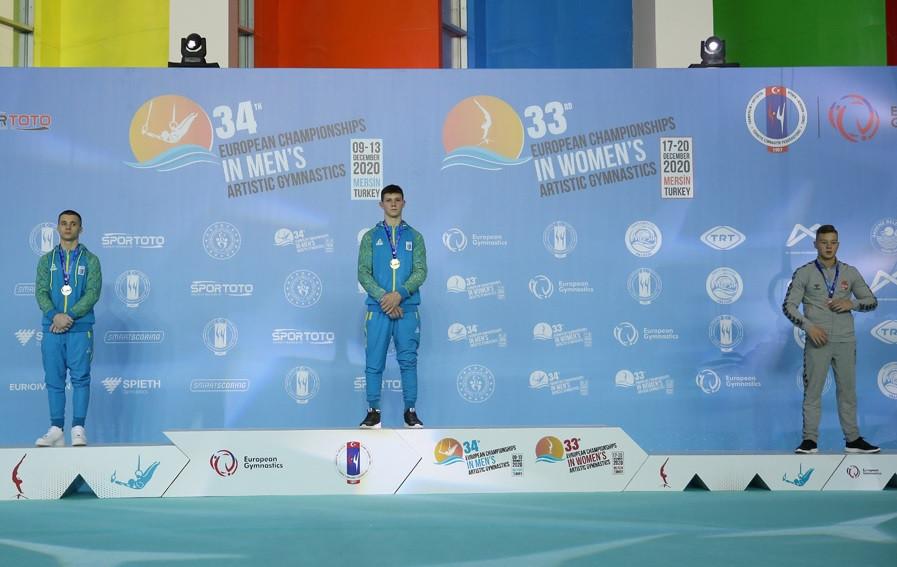 Kovtun wins junior all-around gold at European Men's Artistic Gymnastics Championships