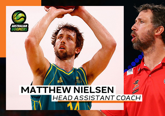 Nielsen appointed assistant manager of Australian basketball team for Tokyo 2020