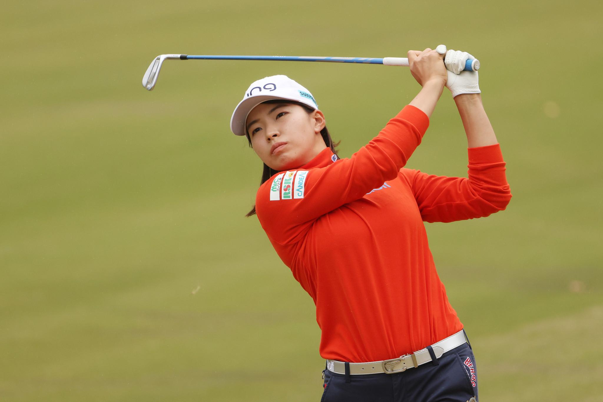 Shibuno takes three-shot lead at US Women's Open