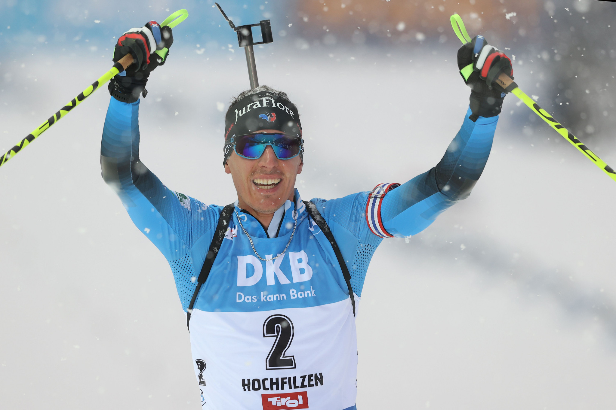 Fillon Maillet continues strong Biathlon World Cup weekend with 12.5km pursuit win