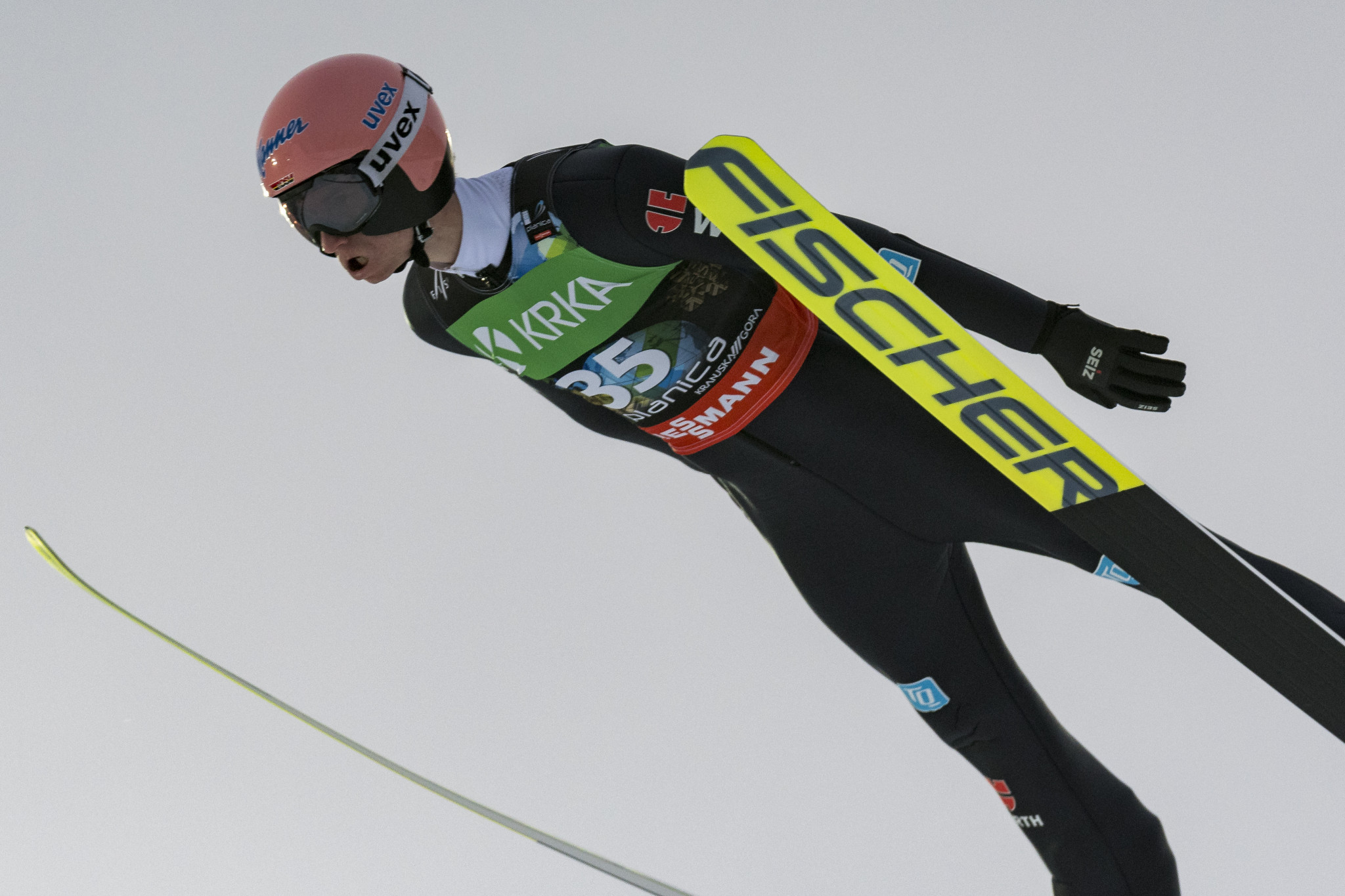 Geiger holds firm to win individual title at FIS Ski Flying World Championships
