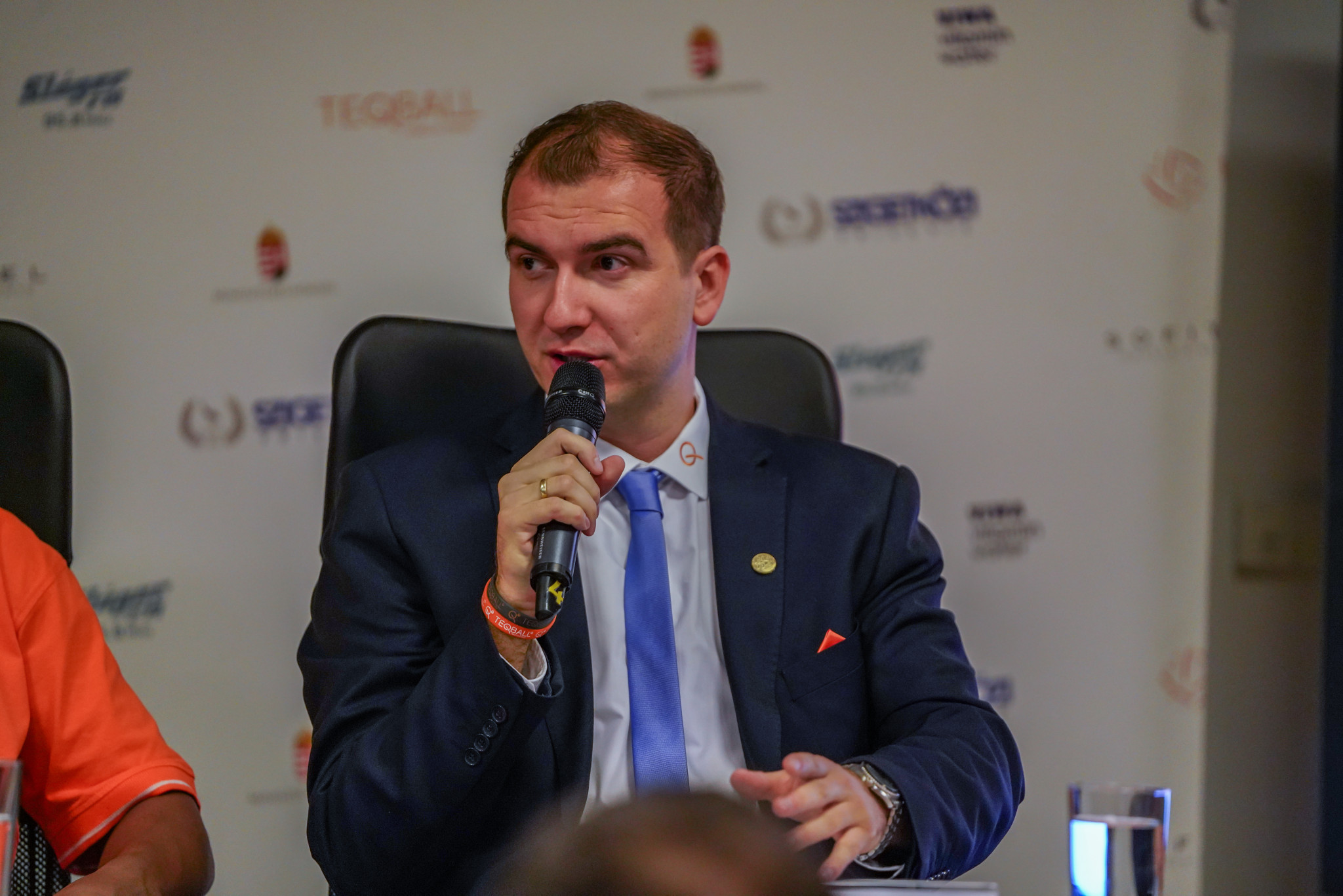 FITEQ chairman Viktor Huszár spoke of the Teqball World Championships at the virtual General Assembly ©FITEQ