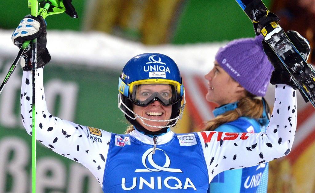 Slovakia's Velez Zuzulova claims first win in three years at FIS Alpine World Cup in Flachau
