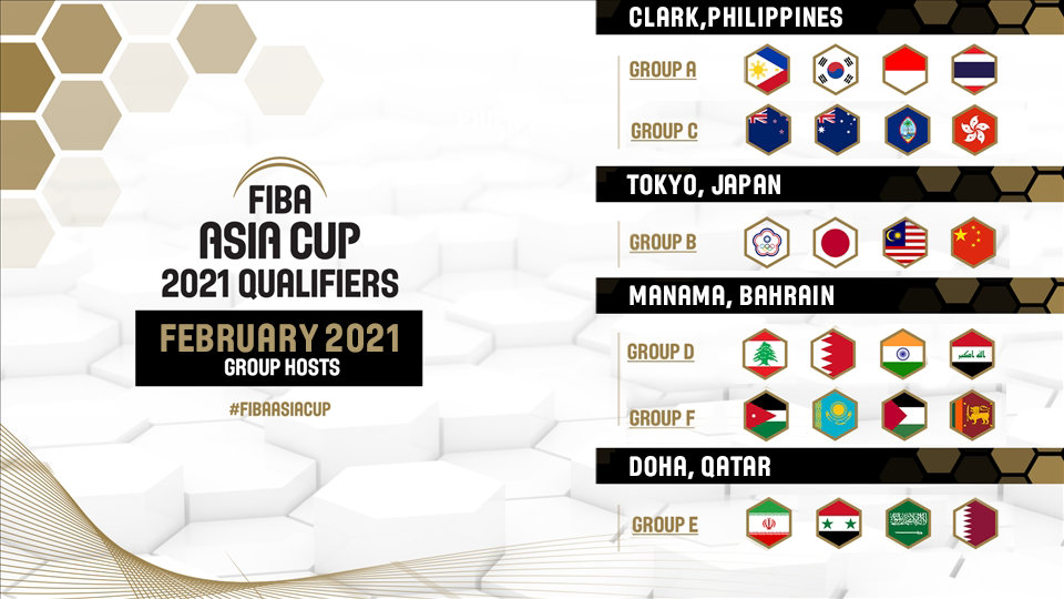 Four venues were confirmed to host FIBA Asia Cup qualifiers ©FIBA