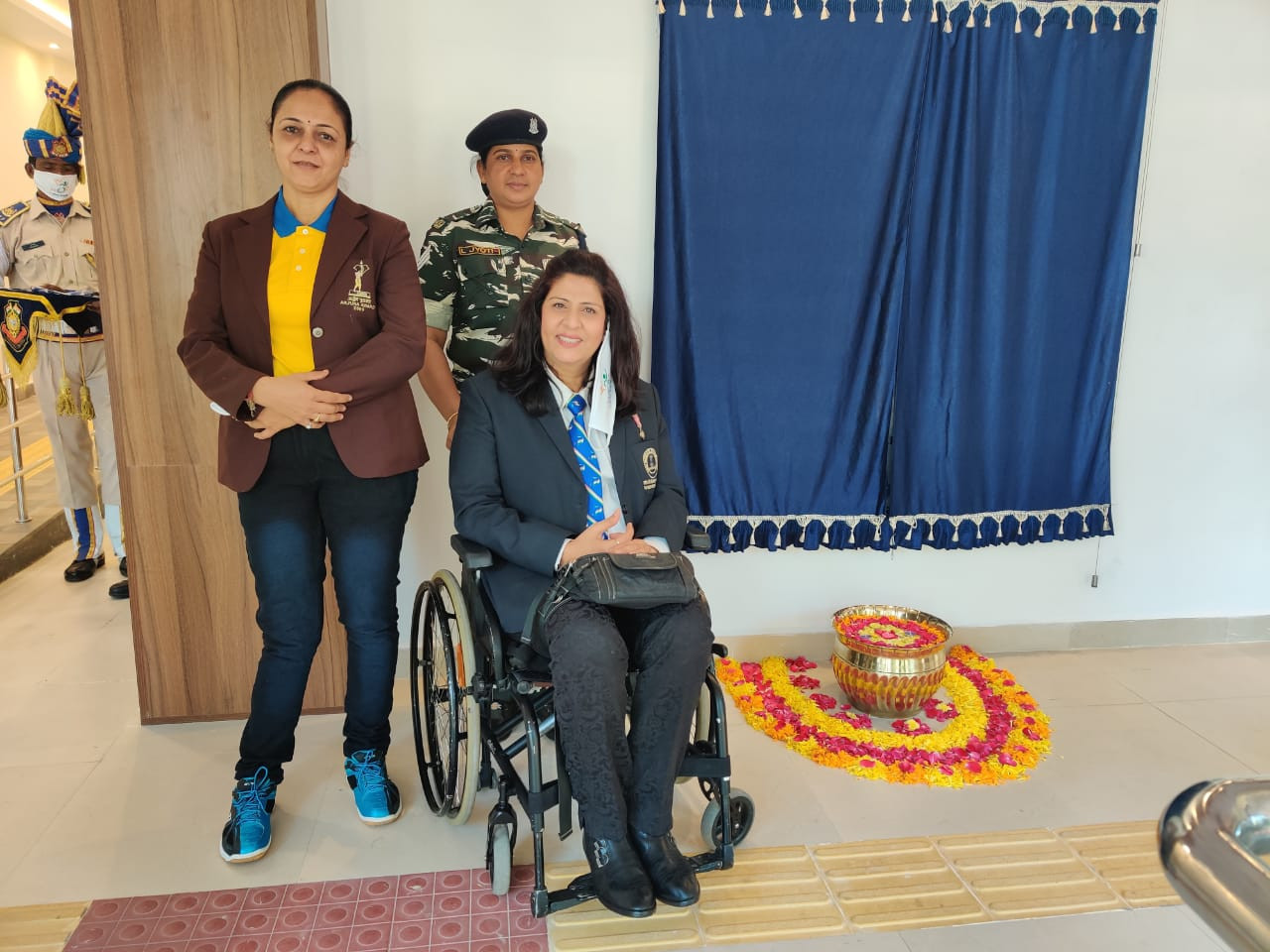 Paralympic Committee of India welcomes new sports centre for wounded soldiers