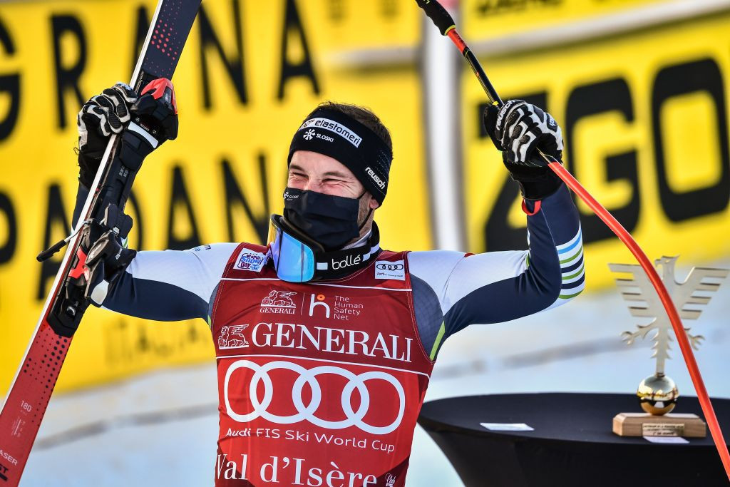 Cater claims shock downhill victory at Val-d'Isère Alpine World Cup