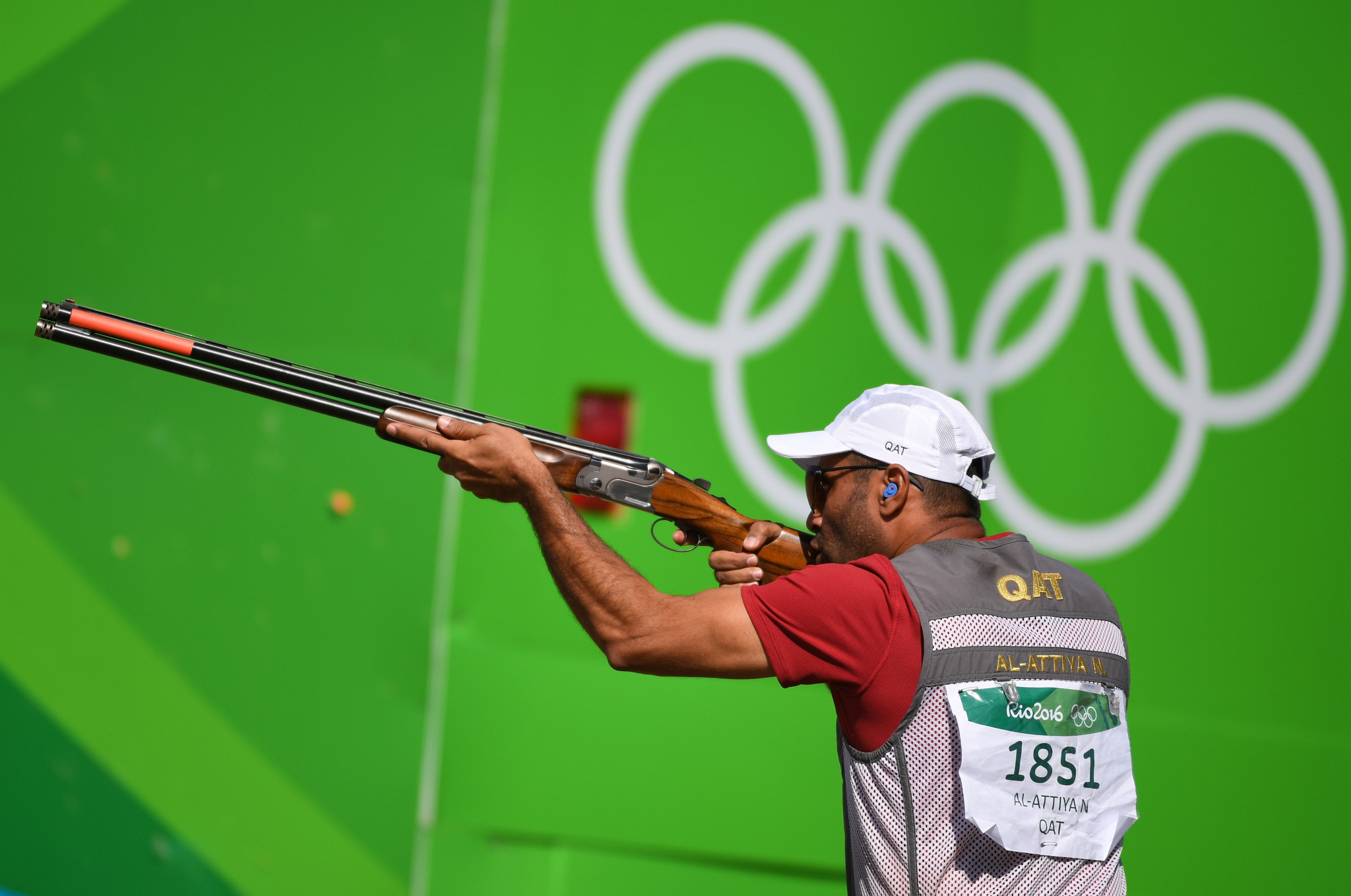 Olympic shooter Nasser Al-Attiyah is another Qatari athlete to back Doha 2030 ©Getty Images