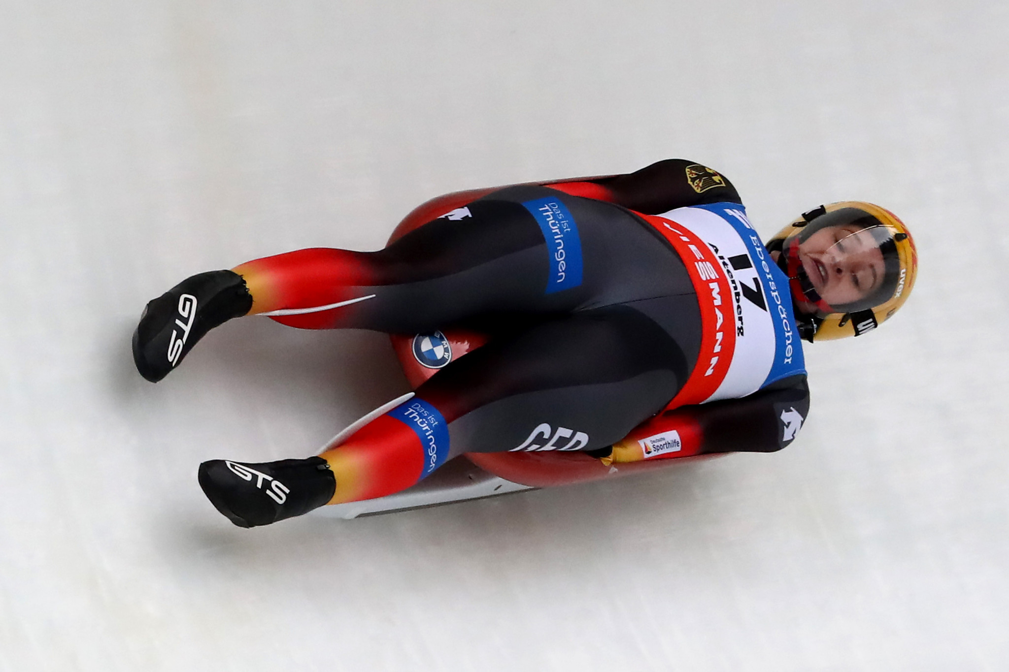 Eitberger earns first Luge World Cup victory since becoming a mother