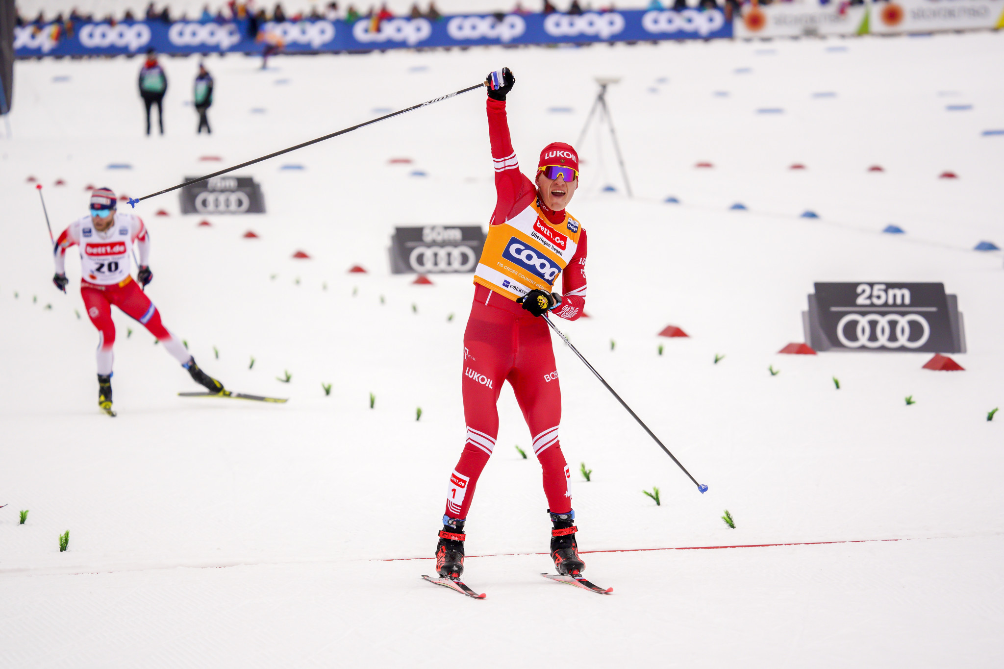 Bolshunov and Brennan take overall Cross-Country World Cup leads with Davos wins