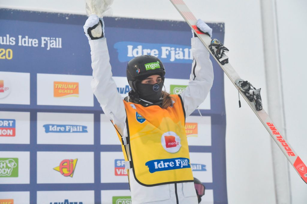 Laffont wins again as Graham and Fjällström share dual moguls spoils at FIS Freestyle World Cup