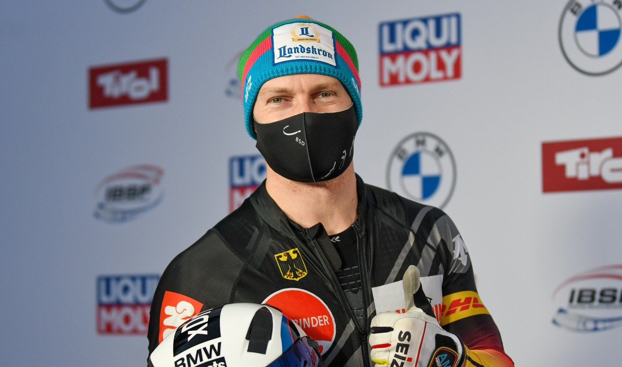 Friedrich clinches fifth IBSF World Cup two-man bobsleigh win of the season