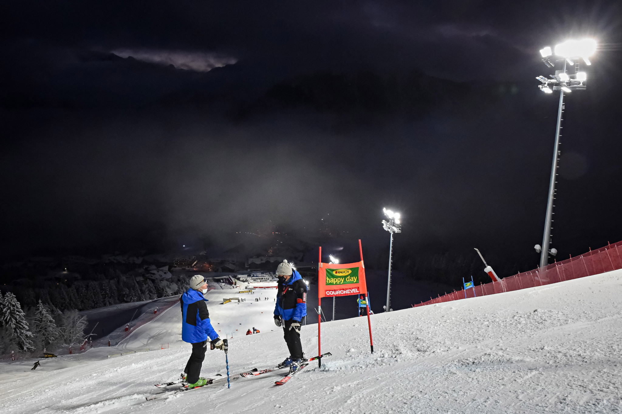 FIS Alpine Ski World Cup race in Courchevel postponed after heavy snowfall