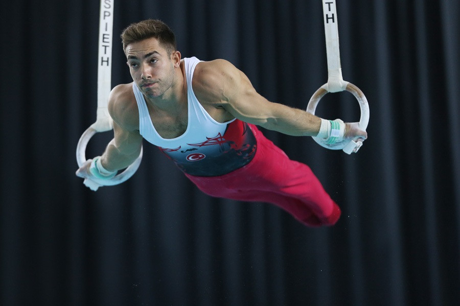 Turkey end home European Men's Artistic Gymnastics Championships with historic double