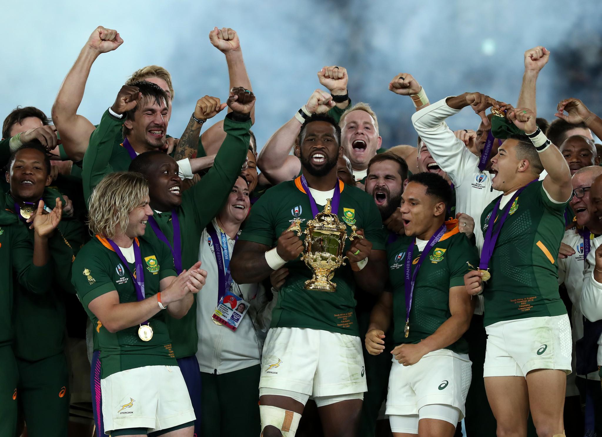Africa de Sud a învins Anglia pentru a câștiga Cupa Mondială de Rugby 2019 din Japonia © Getty Images