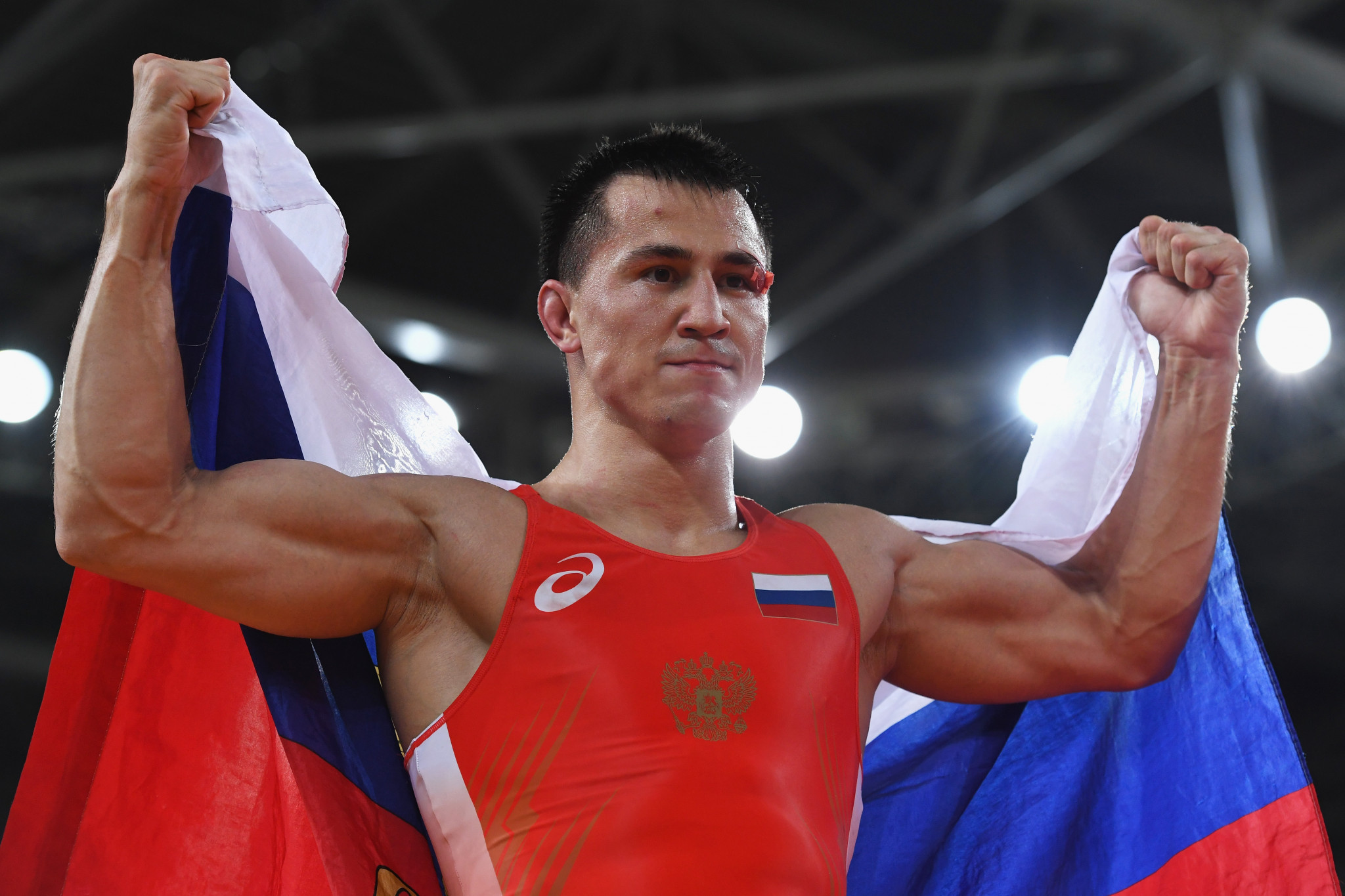 Russians dominate Greco-Roman competition at UWW Individual World Cup