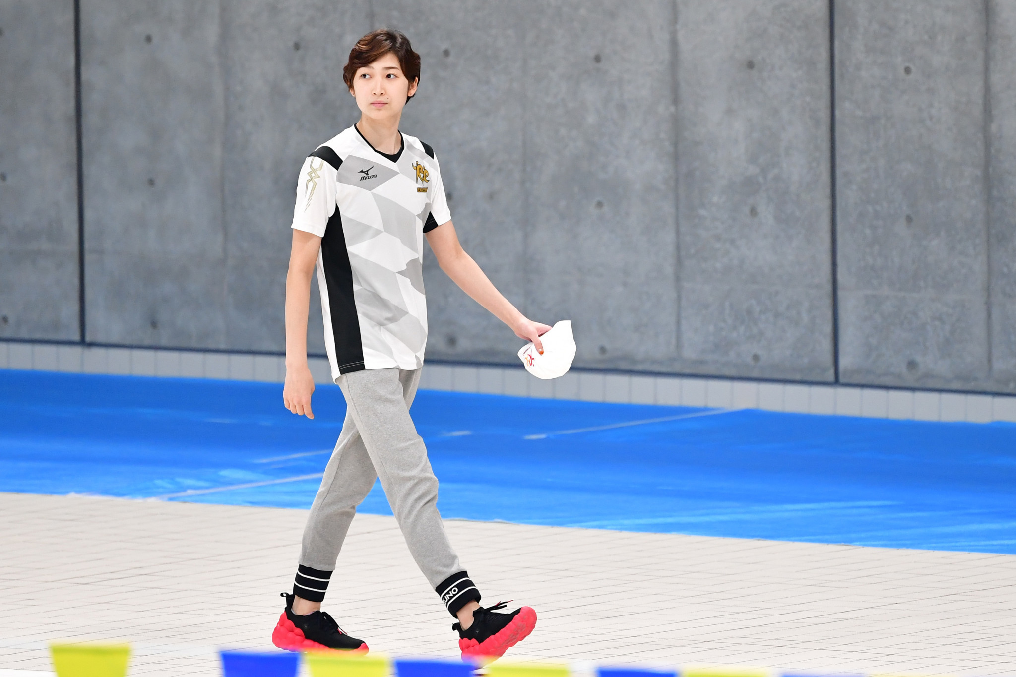 Rikako Ikee was part of the unveiling of the Tokyo 2020 Aquatics Centre ©Getty Images