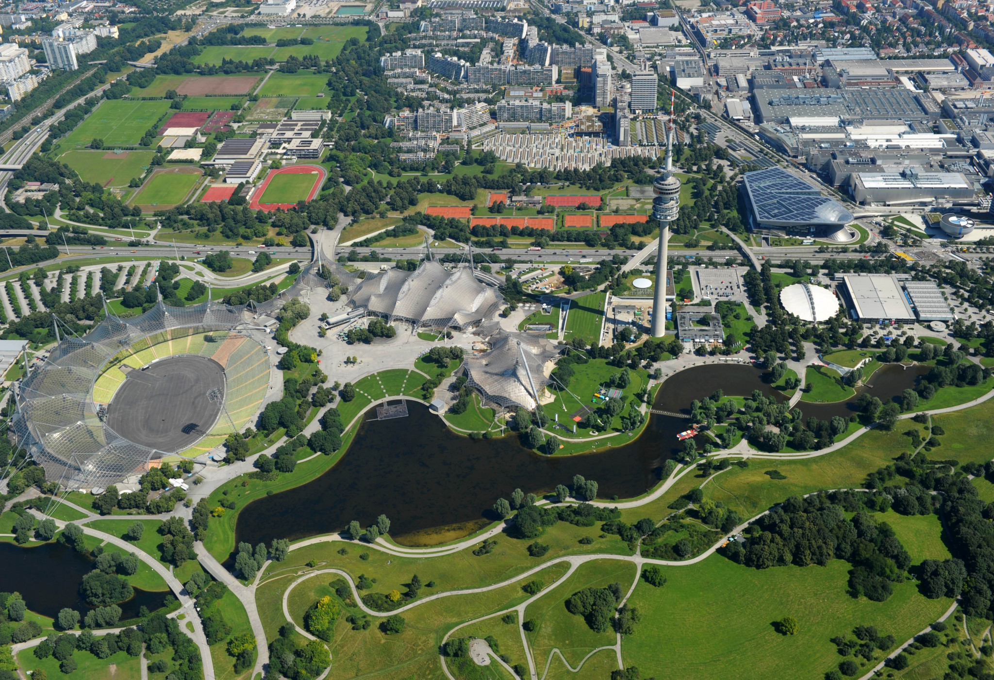 Munich's Olympiapark could become a UNESCO world heritage site ©Getty Images