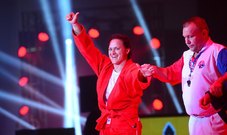 Six-time world sambo champion Oryashkova earns Bulgarian Golden Belt accolade