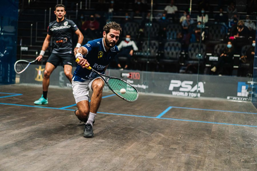 Gawad cruises into second round at PSA Black Ball Squash Open