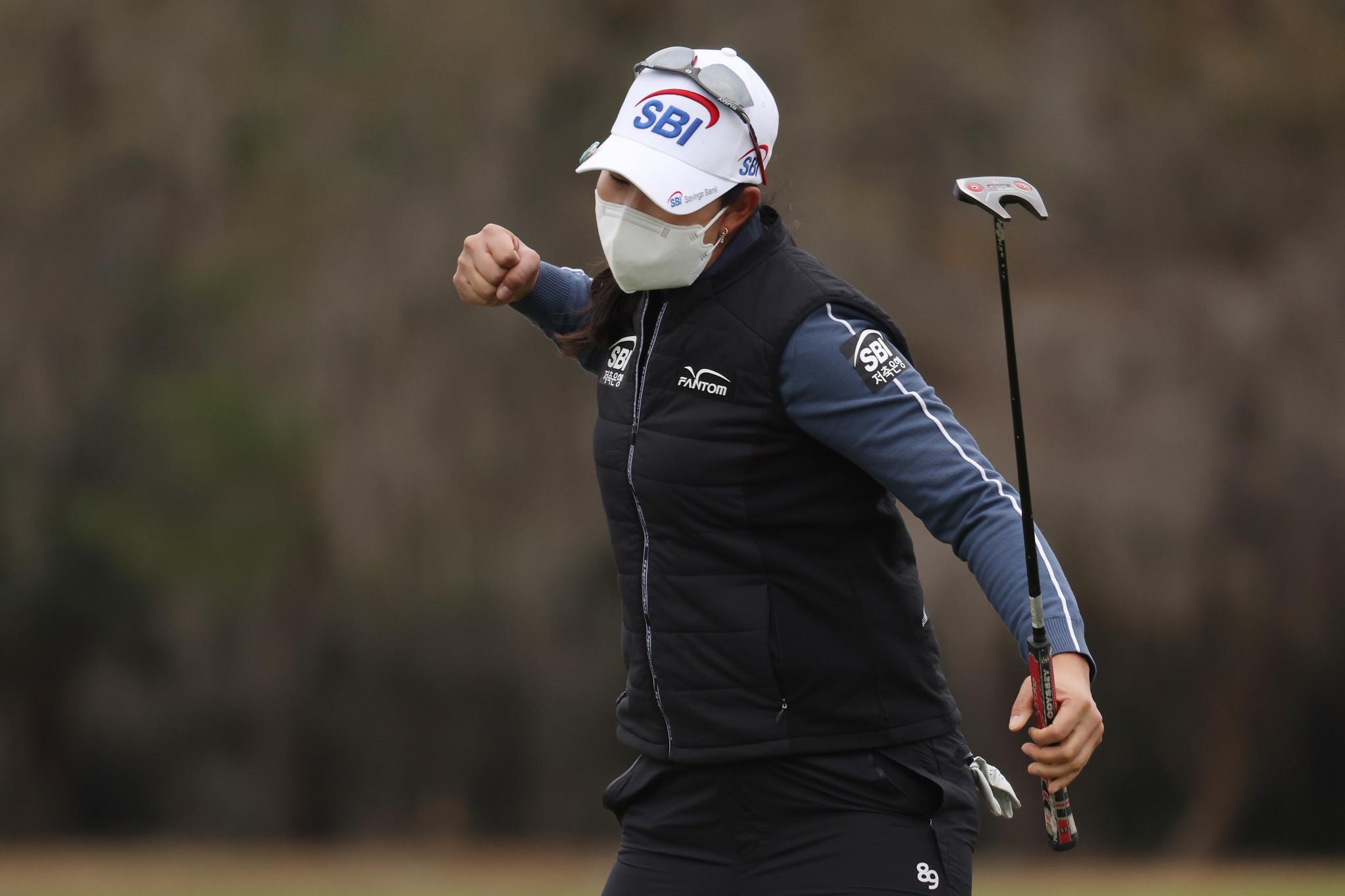 Kim finishes with three successive birdies to win US Women's Open