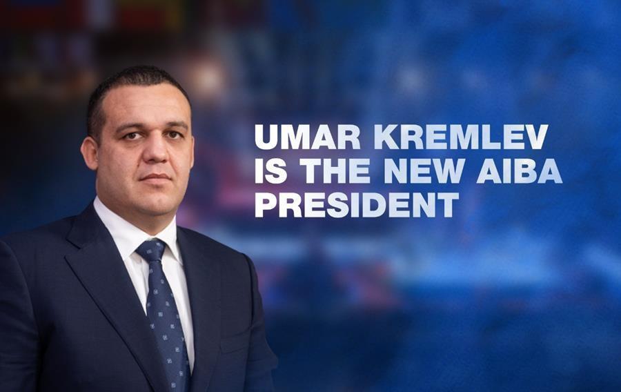 Russia's Umar Kremlev is the new President of AIBA ©AIBA