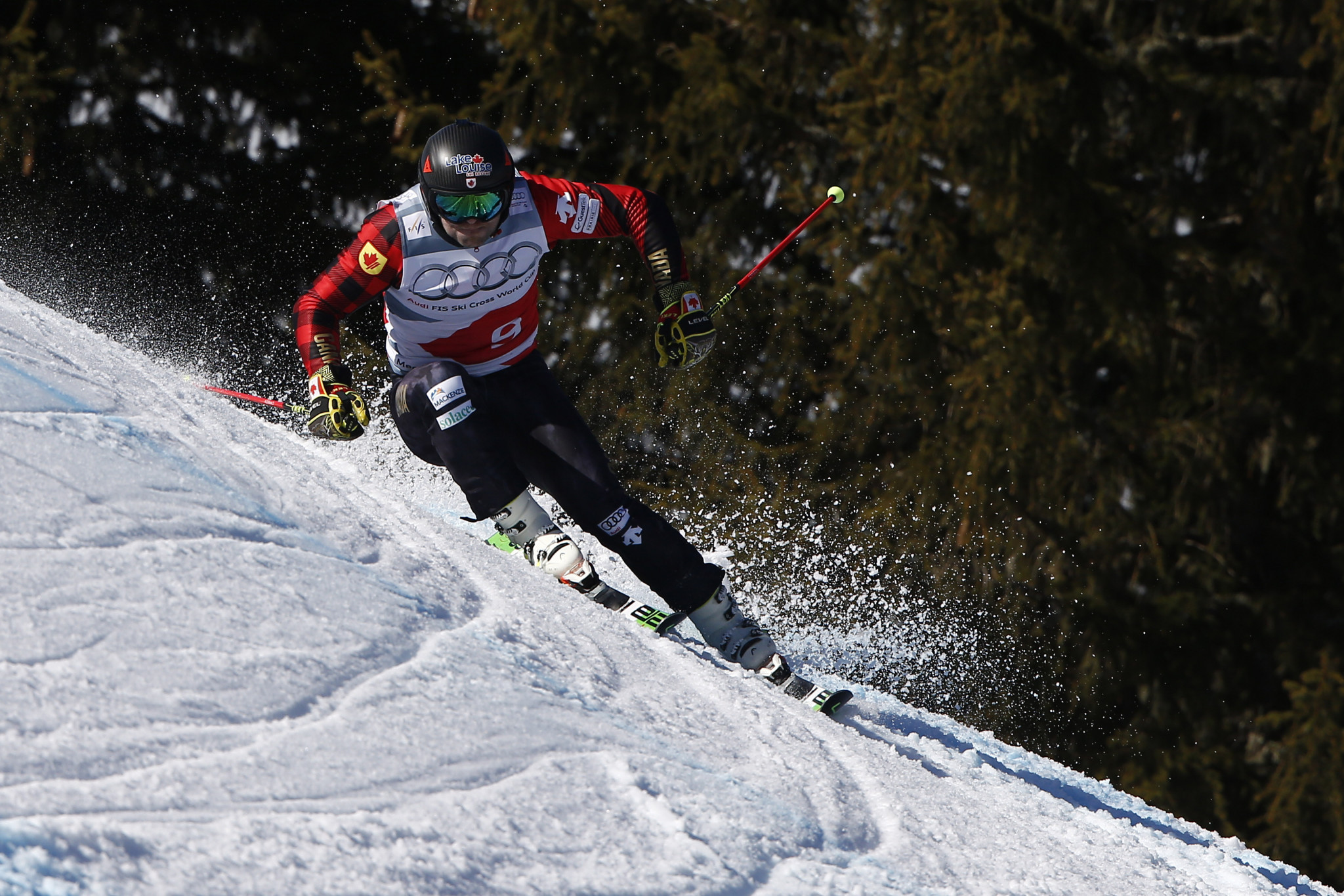 Olympic champion Leman and Kennedy-Sim fastest in Ski Cross World Cup qualifying in Arosa