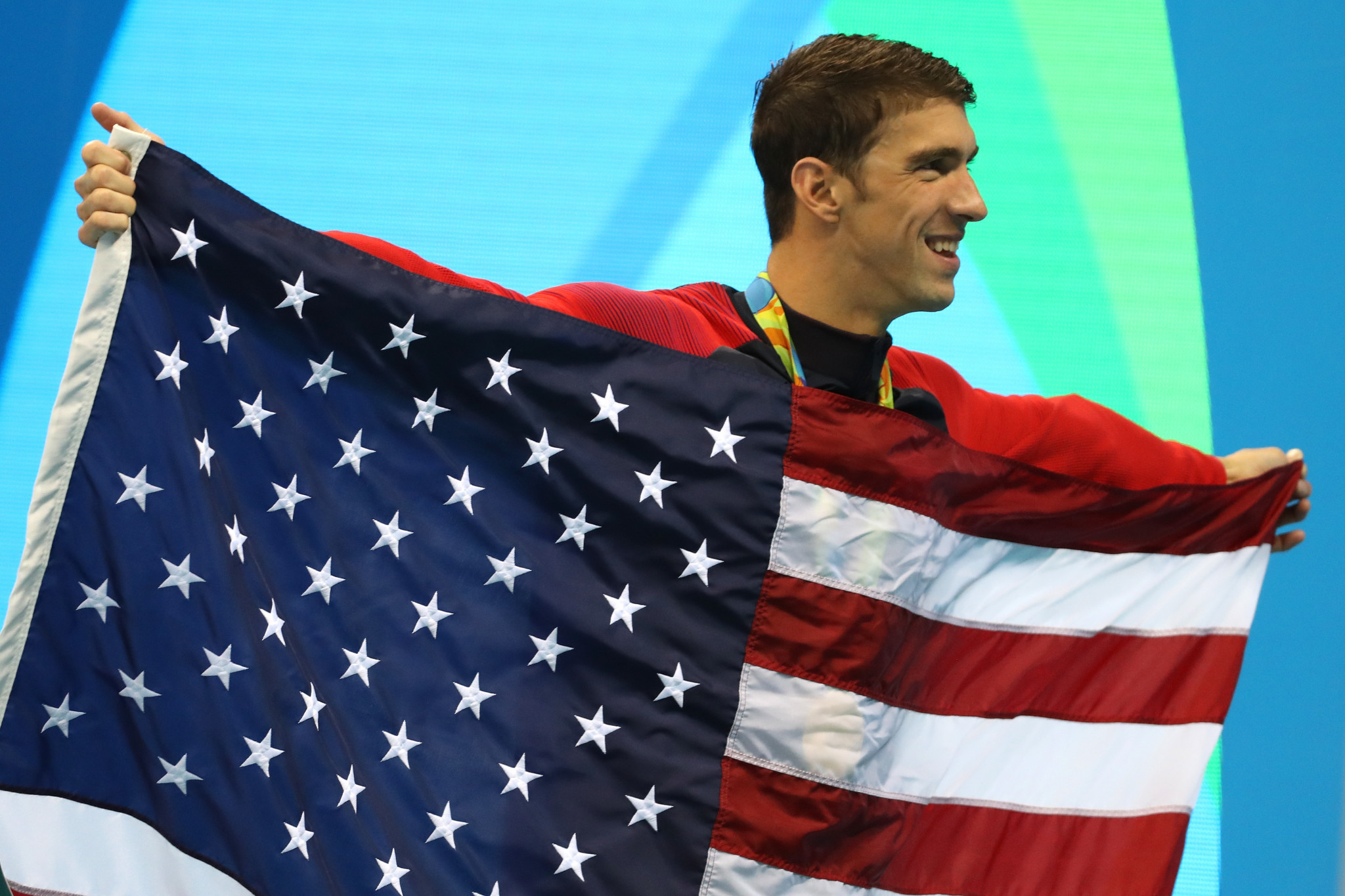 Michael Phelps claimed he was one of the most tested Olympic athletes ©Getty Images