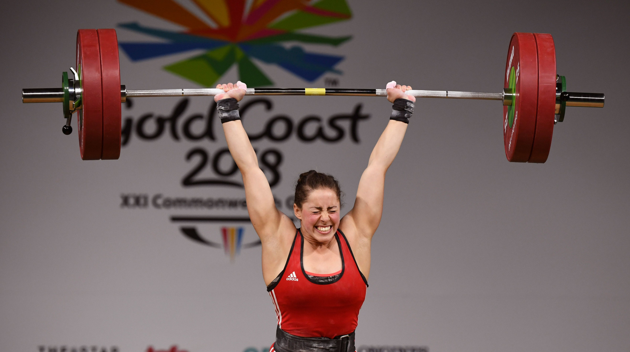 Maude Charron, 63kg champion at Gold Coast 2018, is well-positioned to lead a string Canadian team at Birmingham 2022  ©Getty Images