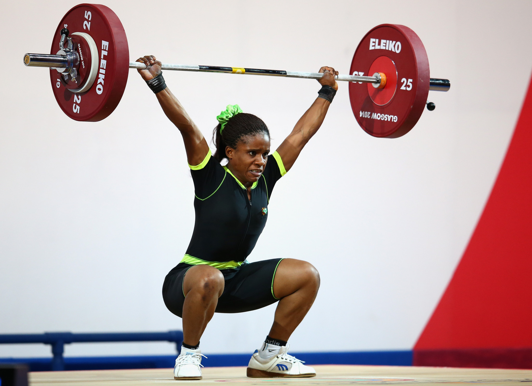 Chika Amalaha won a gold medal at Glasgow 2014, only to be subsequently be disqualified for doping ©Getty Images