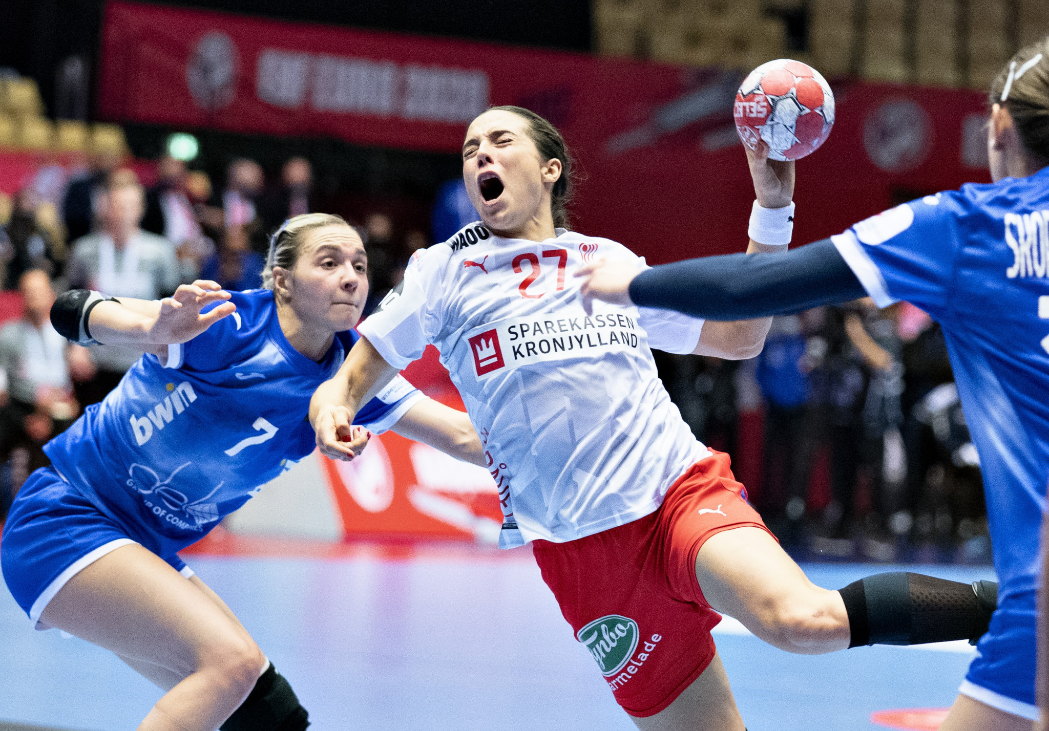 Denmark, Croatia and France reach European Women's Handball Championship semi-finals