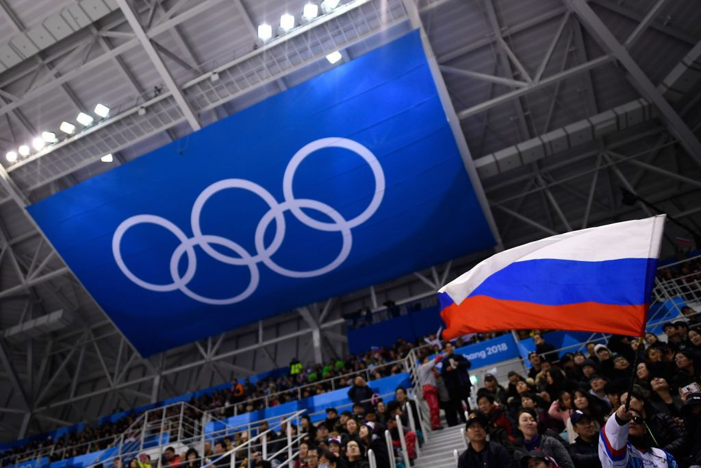Russia banned from using its name, flag at next two Olympics