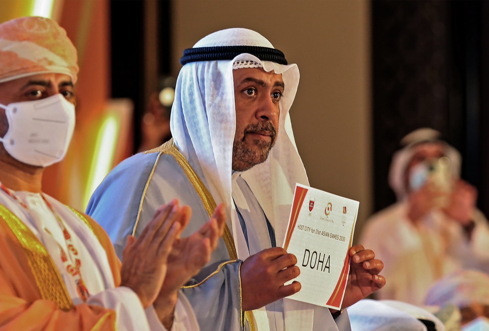Doha will host the 2030 Asian Games with Riyadh awarded the 2034 edition ©OCA