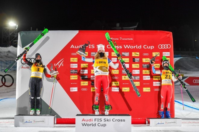 Smith and Andersson victorious in latest FIS Ski Cross World Cup races