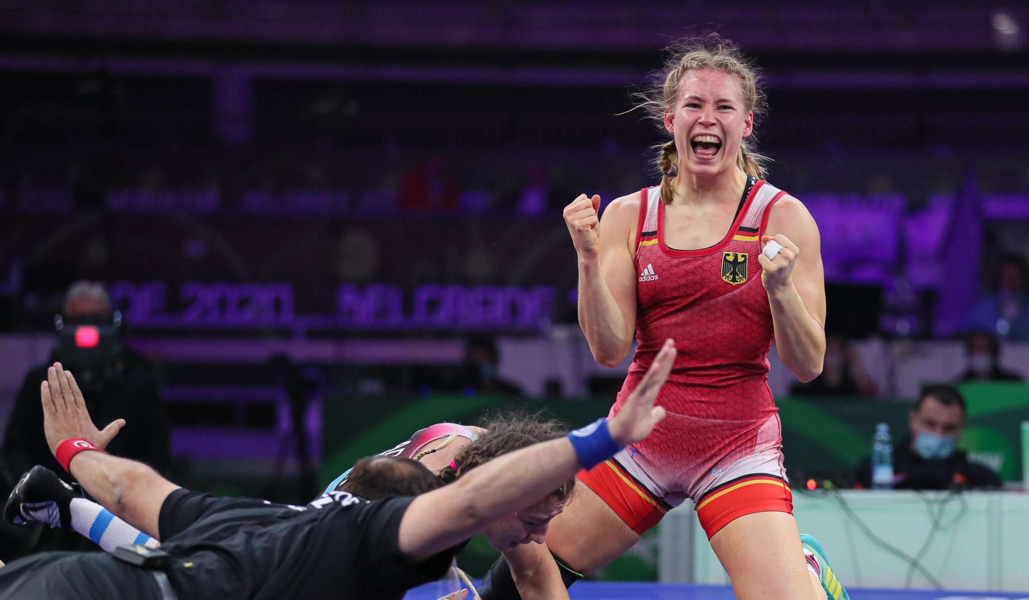 Russia claim team title on final day of women's action at UWW Individual World Cup