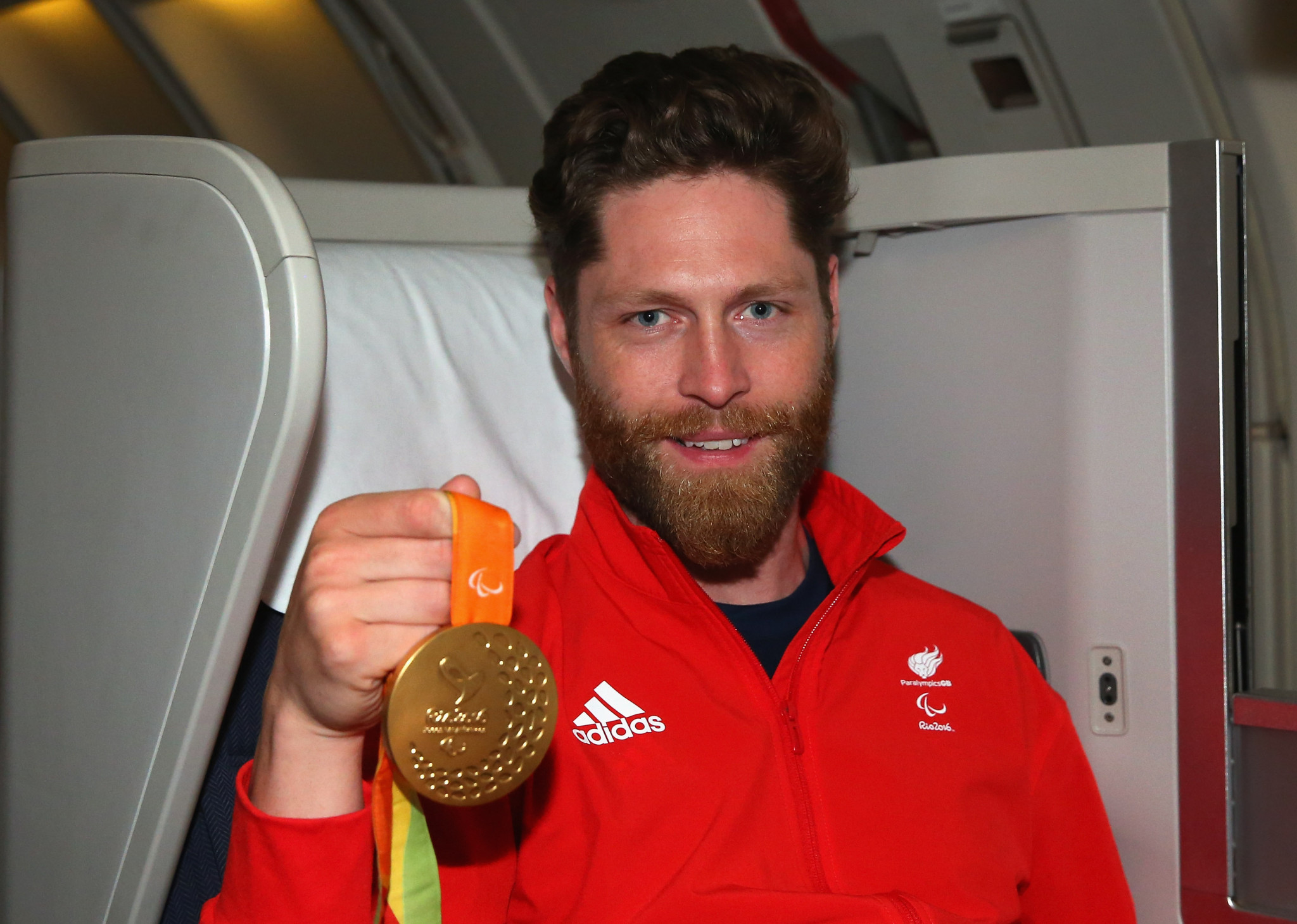 Jon-Allan Butterworth won a Paralympic gold medal at Rio 2016 ©Getty Images