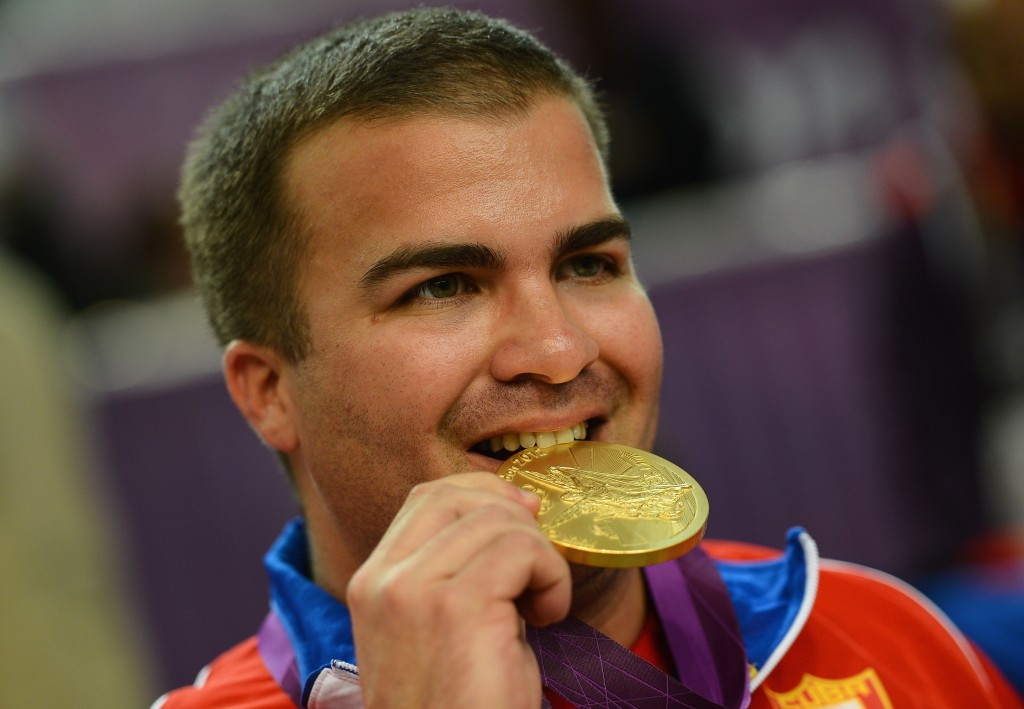 Shooter Leuris Pupo was one of five Cuban gold medallists at London 2012